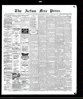 Acton Free Press (Acton, ON)4 Feb 1909