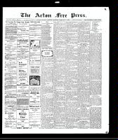 Acton Free Press (Acton, ON)11 Feb 1909