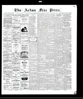 Acton Free Press (Acton, ON)18 Feb 1909