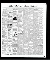 Acton Free Press (Acton, ON)4 Mar 1909