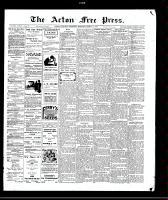 Acton Free Press (Acton, ON)11 Mar 1909