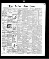 Acton Free Press (Acton, ON)1 Apr 1909