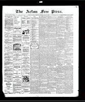 Acton Free Press (Acton, ON)22 Apr 1909