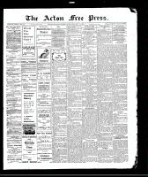 Acton Free Press (Acton, ON)13 May 1909