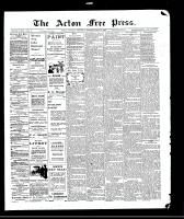 Acton Free Press (Acton, ON)20 May 1909