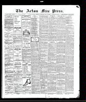 Acton Free Press (Acton, ON)17 Jun 1909