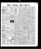 Acton Free Press (Acton, ON)1 Jul 1909