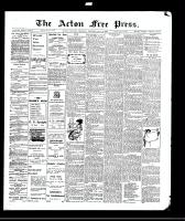 Acton Free Press (Acton, ON)8 Jul 1909