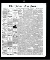 Acton Free Press (Acton, ON)22 Jul 1909