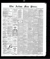 Acton Free Press (Acton, ON)19 Aug 1909