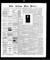 Acton Free Press (Acton, ON)16 Sep 1909