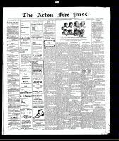 Acton Free Press (Acton, ON)23 Sep 1909
