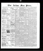 Acton Free Press (Acton, ON)14 Oct 1909
