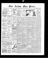 Acton Free Press (Acton, ON)28 Oct 1909