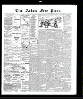 Acton Free Press (Acton, ON)4 Nov 1909