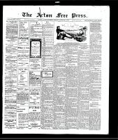Acton Free Press (Acton, ON)2 Dec 1909