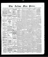 Acton Free Press (Acton, ON), December 9, 1909