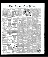 Acton Free Press (Acton, ON), December 23, 1909
