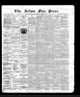 Acton Free Press (Acton, ON)13 Jan 1910