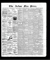 Acton Free Press (Acton, ON), January 27, 1910