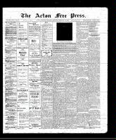 Acton Free Press (Acton, ON), February 24, 1910
