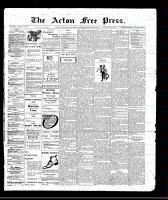Acton Free Press (Acton, ON), March 10, 1910