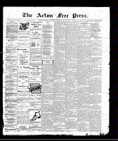 Acton Free Press (Acton, ON), March 17, 1910