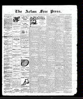 Acton Free Press (Acton, ON)24 Mar 1910