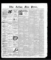 Acton Free Press (Acton, ON), March 24, 1910