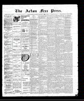 Acton Free Press (Acton, ON)7 Apr 1910