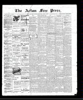 Acton Free Press (Acton, ON)14 Apr 1910