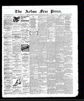 Acton Free Press (Acton, ON)28 Apr 1910