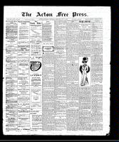 Acton Free Press (Acton, ON)5 May 1910