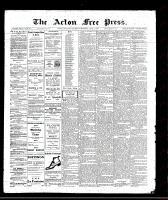 Acton Free Press (Acton, ON)2 Jun 1910