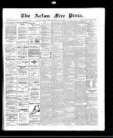 Acton Free Press (Acton, ON)4 Aug 1910