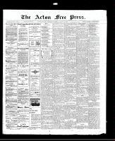Acton Free Press (Acton, ON), August 18, 1910