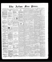 Acton Free Press (Acton, ON), September 1, 1910