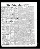 Acton Free Press (Acton, ON)8 Sep 1910