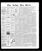 Acton Free Press (Acton, ON)6 Oct 1910