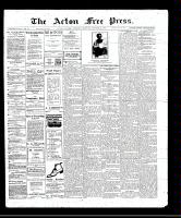 Acton Free Press (Acton, ON)13 Oct 1910