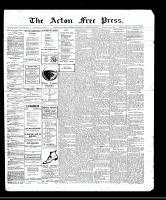 Acton Free Press (Acton, ON), October 20, 1910
