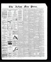Acton Free Press (Acton, ON)27 Oct 1910