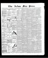 Acton Free Press (Acton, ON), November 17, 1910