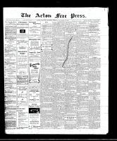 Acton Free Press (Acton, ON)24 Nov 1910