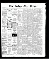 Acton Free Press (Acton, ON)1 Dec 1910