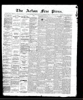 Acton Free Press (Acton, ON)8 Dec 1910