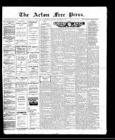 Acton Free Press (Acton, ON)22 Dec 1910