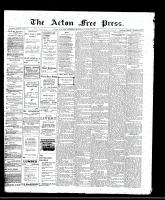 Acton Free Press (Acton, ON)29 Dec 1910