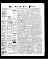 Acton Free Press (Acton, ON)5 Jan 1911