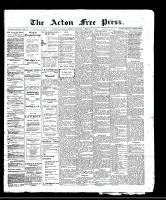 Acton Free Press (Acton, ON)2 Feb 1911
